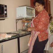 Kirti at our customized Bakery Course (A)