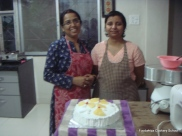 Apoorva & Meenu at our Cake Course (B)